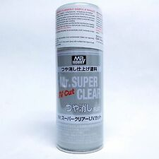 Mr Super Clear UV CUT FLAT Matte Matt 170ml Spray Sealant B523:800 Model hobby