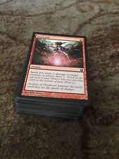 100 Bulk magic the gathering red common cards mtg Job Lot