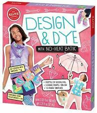 Design and Dye with No-Heat Batik by Klutz Editors (2015, Novelty Book)