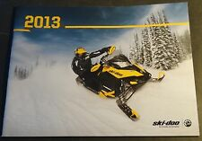 2013 SKI-DOO SNOWMOBILE SALES & ACCESSORIES BROCHURE 44 PAGES NICE  (310)
