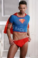 Superman 2Pc Costume Set Jock S Cape Halloween FREE SHIP