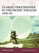 Osprey Warrior 165: US ARMY PARATROOPER IN THE PACIFIC THEATER 1943-45 / NEU