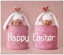 Happy Easter Babies Funny  Refrigerator / Tool Box  Magnet