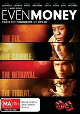 Even Money DVD Kelsey Grammer Kim Basinger Ray Liotta Forest Whitaker