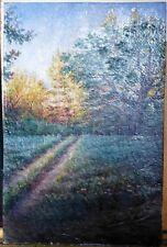 The forest - ORIGINAL OIL Painting from Ukraine! LANDSCAPE WALL decor ART