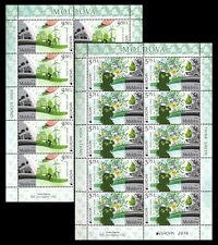 "Moldova 2016 CEPT Europa ""Think Green"" sheet 2x10 Stamps"