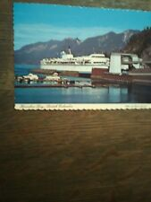 BC FERRIES HORSHOE BAY FERRY LANDING POST CARD BC FERRY ROUTES IN CANADA