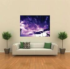 REAL LIGHTNING NEW GIANT POSTER WALL ART PRINT PICTURE G469