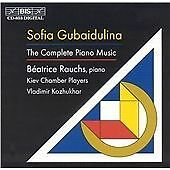 SOFIA GUBAIDULINA The Complete Piano Music CD (1997) Beatrice Rauchs Kiev Chambe