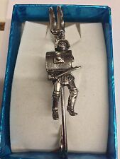"Roman Gladiator Thracian WE-GP4 Pewter Emblem Kilt Pin Scarf/Brooch 3"" 7.5 cm"