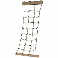 BRAND NEW! Swing-N-Slide Climbing Cargo Net with Nylon Rope and Wooden Dowels