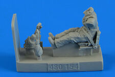 Aerobonus 480154 1/48 Resin Soviet Woman Pilot WWII with seat for Po-2 ICM
