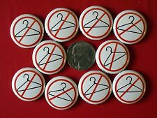 Set: 10 Pro-Choice Pins * Support Women's Community Clinic * Keep Abortion Legal