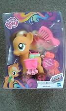 MY LITTLE PONY G4, Rainbow POWER FASHION STILE APPLEJACK, RARA NUOVA non aperta