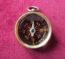 COMPASS WITH QUEEN VICTORIA PENNY TO THE REVERSE - WW1 TRENCH ART STYLE