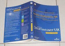Nicola Castrofino DREAMWEAVER MX Corso pratico Mondadori 2002 Guida manuale