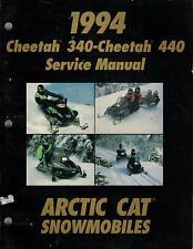 1994 ARCTIC CAT SNOWMOBILE CHEETAH 340,440 P/N 2255-013 SERVICE MANUAL (374)