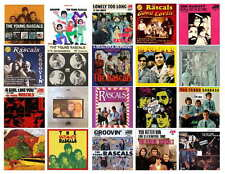 THE YOUNG RASCALS  RECORD ALBUMS   PHOTO-FRIDG MAGNETS