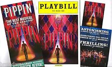 "Andrea Martin ""PIPPIN"" Patina Miller / Stephen Schwartz 2013 Playbill and Flyers"