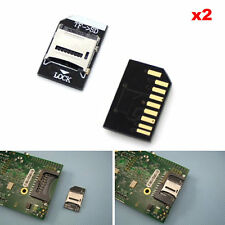 2PCS T-flash TF to Micro SD card adapter Module for Raspberry Pi V2 Molex deck