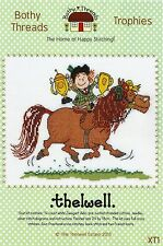 BOTHY THREADS THELWELL TROPHIES CARTOON HORSE CROSS STITCH KIT