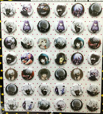 Tokyo Ghoul 3CM 42x lot PIN back BADGE BUTTON NEW GIFT PARTY CLOTH BAG