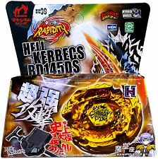 Hades Kerbecs / Hell Kerbecs Metal Masters Beyblade NIP + Launcher - USA SELLER!