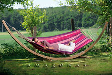 Amazonas Starset candy – Weatherproof hammock and wooden stand set