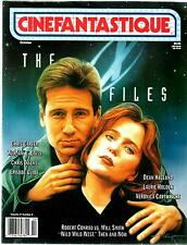 CINEFANTASTIQUE MAGAZINE THE X-FILES EPISODE GUIDE WILD WILD WEST EX CONDITION