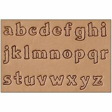 "Craftool Lower Case Alphabet Stamp Set 3/4"" 8131-02 by Tandy Leather"