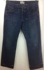 AUTHENTIC ENERGIE BUKLEY RELAXED FIT MEN'S ITALIAN BLUE JEANS 34 X 34 ~ EUC