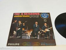 The 4 Seasons Entertain you Toy Soldier Bye Bye Baby LP RARE cover record vinyl