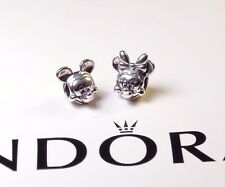 AUTHENTIC PANDORA MICKEY & MINNIE PORTAITS S925 ALE STERLING SILVER DISNEY CHARM