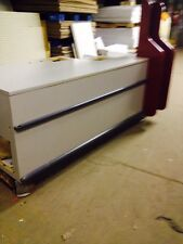Used Checkout Counters Gray Store Cashwrap Fixtures Customer Service area