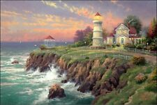 THOMAS KINKADE Victorian Light replica art print magnet - new!