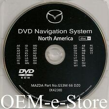 2008 2009 2010 Mazda 5 Mazda5 Navigation DVD Map WEST Coast U.S +Canada
