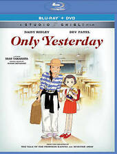 Only Yesterday (Blu-ray/DVD, 2016, 2-Disc Set), Studio Ghibli