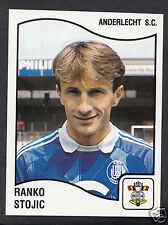 Panini Sticker - Belgium Football 1990 - No 7 - Anderlecht - Ranko Stojic