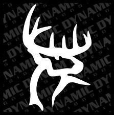 Large Buck Sticker deer hunting huge rack hunter sportsman vinyl window decal
