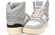 Pony M100 Le Wool High Top Retro Vintage Sneakers Sz 11 Men's Gray White Rare