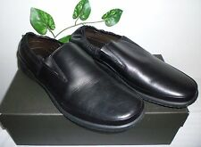 Bruno Magli Black Men's Leather Soft Italy Stretch Loafers Shoes Size 12 NEW