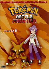 POKEMON BATTLE FRONTIER SAISON 9 VOL.6 DVD DESSIN ANIME NEUF/CELLO