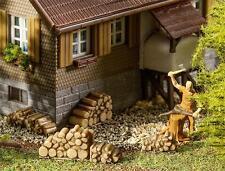 Faller HO 180940 6 Petit Pile de bois de chauffage Neuf