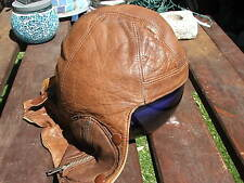 RCAF B-Type Leather flying Helmet, RAF, RAAF, RNZAF, Royal Air Force. WW2