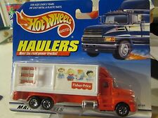 Hot Wheels Haulers over the Road Trucks! Fisher-Price
