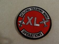 US MILITARY PATCH AIR FORCE 47 FLYING TRAINING WING OPERATIONS XL