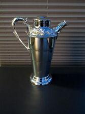 VTG Malboro Plate E.P. Copper  # 181 Silver Plated Cocktail-Martini Shaker 40on