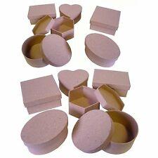 Paper Mache Boxes Set of 12