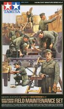 Tamiya 1/48 WWII German Tank Crew Field Maintenance Set # 32547