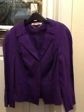 Ladies L K Bennett BN Anne Jacket size 6 in Purple